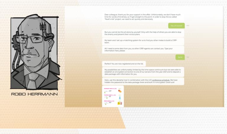 3.1 - Quest 2 - Screenshot Chatbot 1